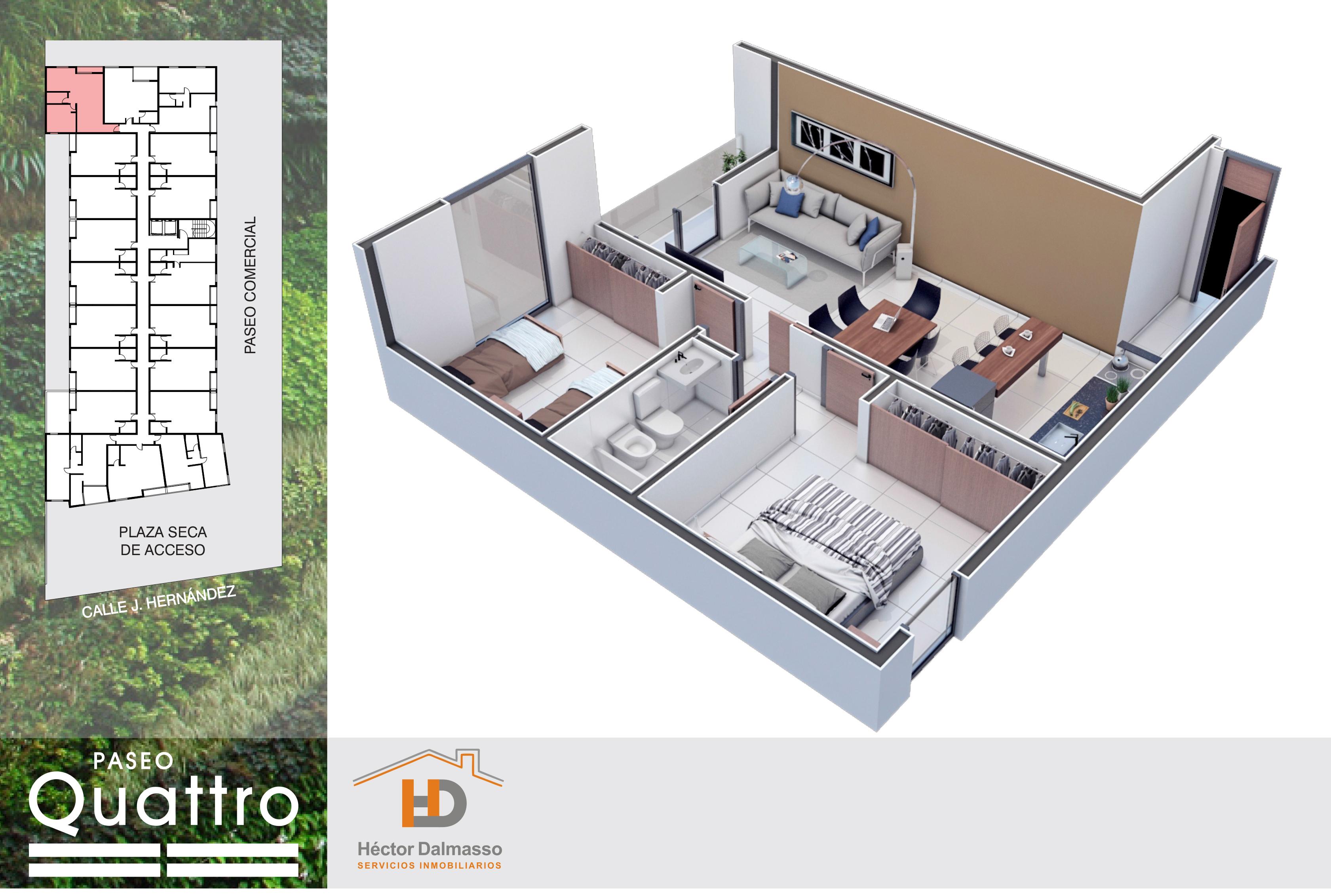 Paseo quattro carlos paz hd inmobiliaria for Gimnasio quatro
